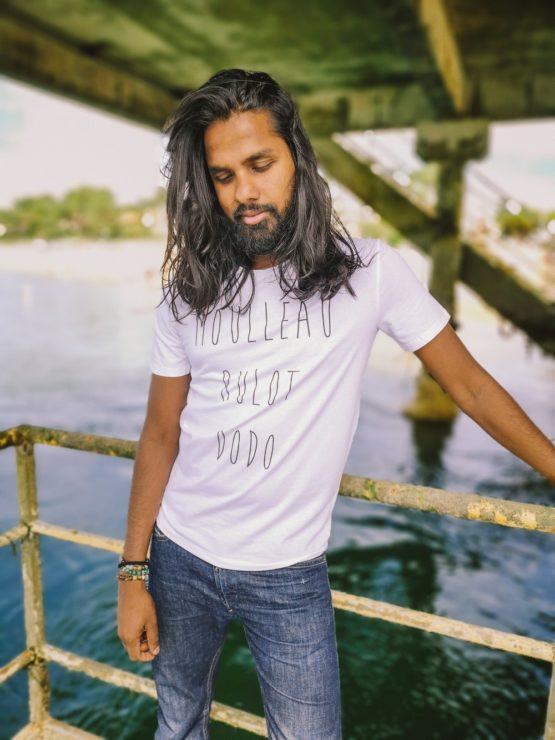 T-shirt homme Moulleau bulot dodo