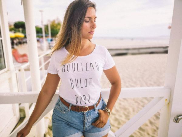 T-shirt femme Moulleau Bulot Dodo