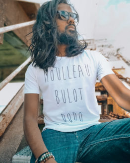T-shirt homme la boutique de Monique Moulleau bulot dodo