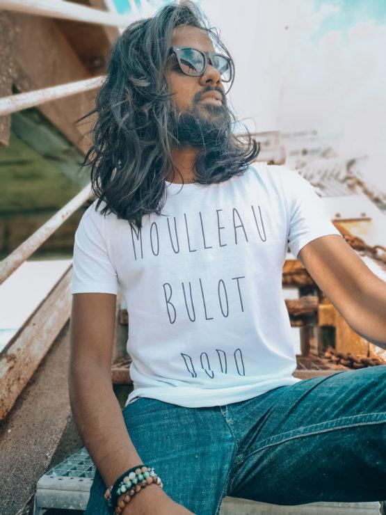 T-shirt homme la boutique de Monique Moulleau bulot dodo